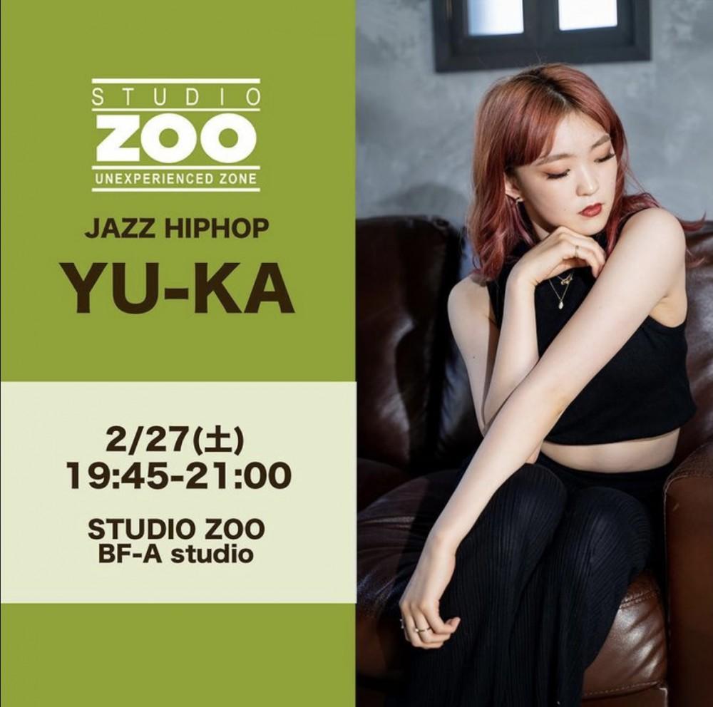 代行情報💁🏼♀️2/27(土)YU-KA