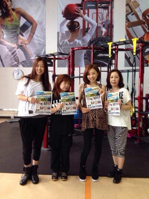 セントラルフィットネス大曽根店 12:00〜13:00 GIRLS STYLE 今日もありがとうございました!!