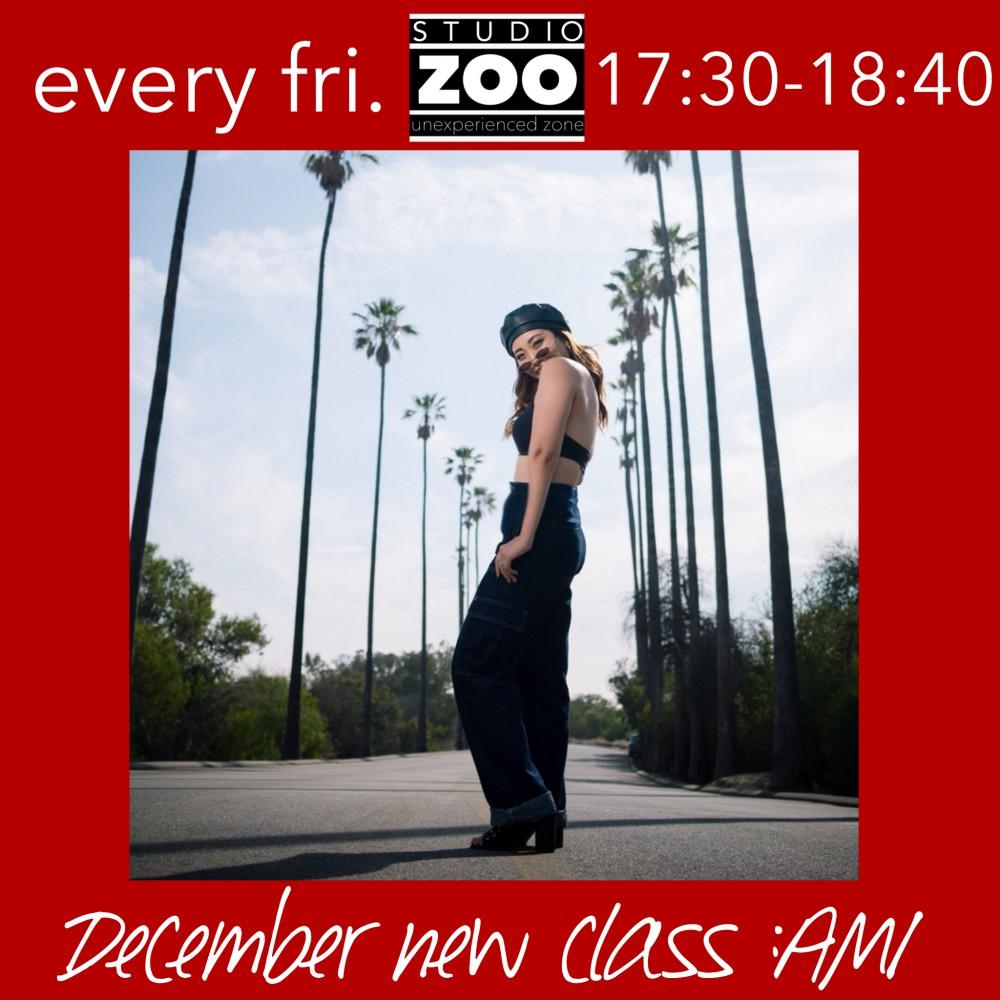 12月NEW CLASS!! AMI