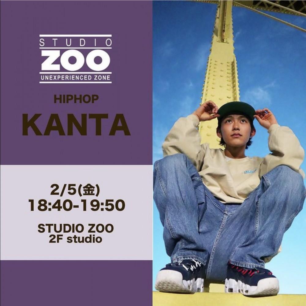 代行情報🔥2/5(金) KANTA  HIPHOP