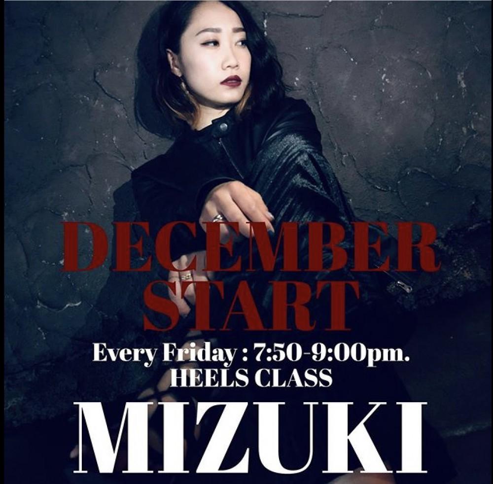 🌹12月 NEWクラス情報  MIZUKI HEELS