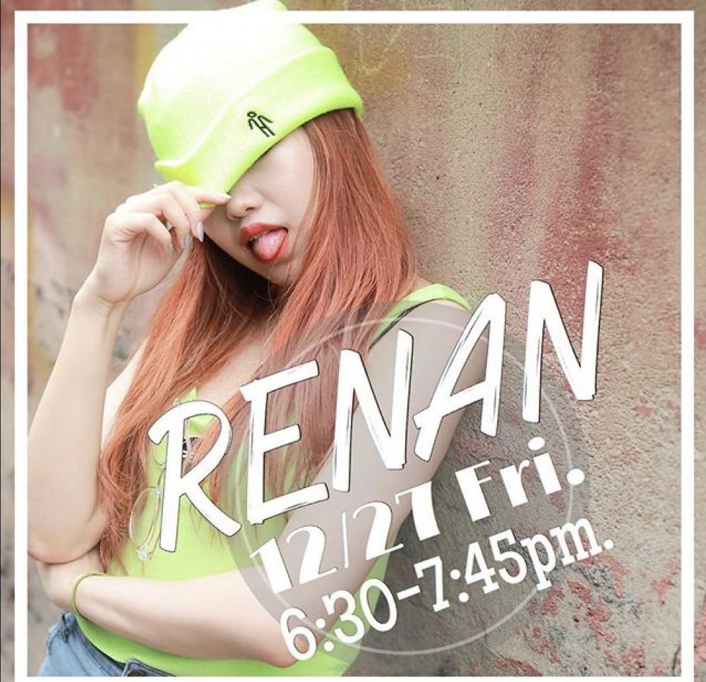 12/27(金)Special CLASS 情報  RENAN ×  AMI