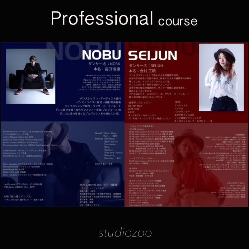 NOBU ・SEIJUN   セミプライベート Lesson  限定10名 ☆ 受付中です‼️
