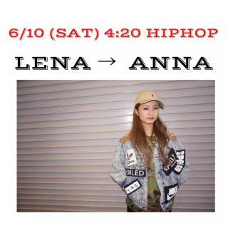 6/10代行LENA →  ANNA です♪