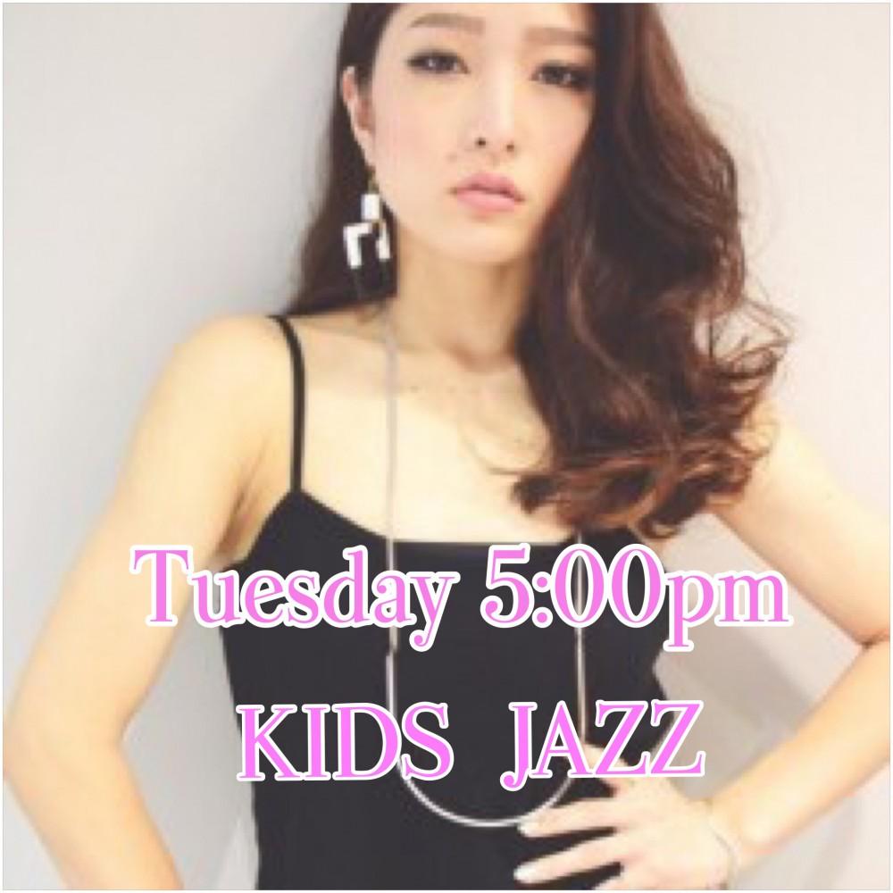☆火曜日 5:00pmAIKO KIDS JAZZ