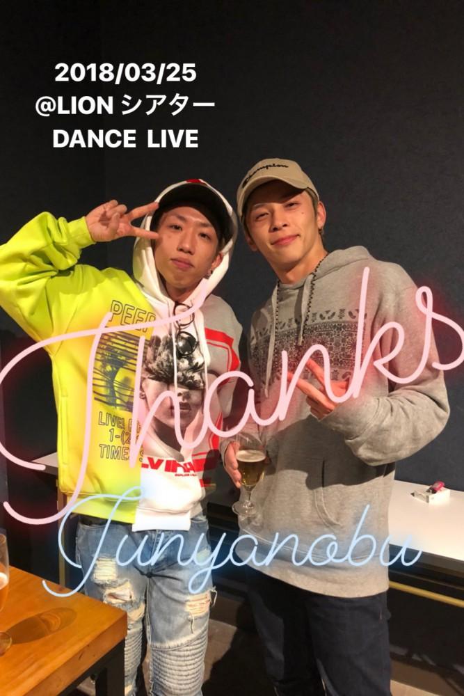 3/25 DANCE  LIVE @LION シアター ありがとうございました🌸