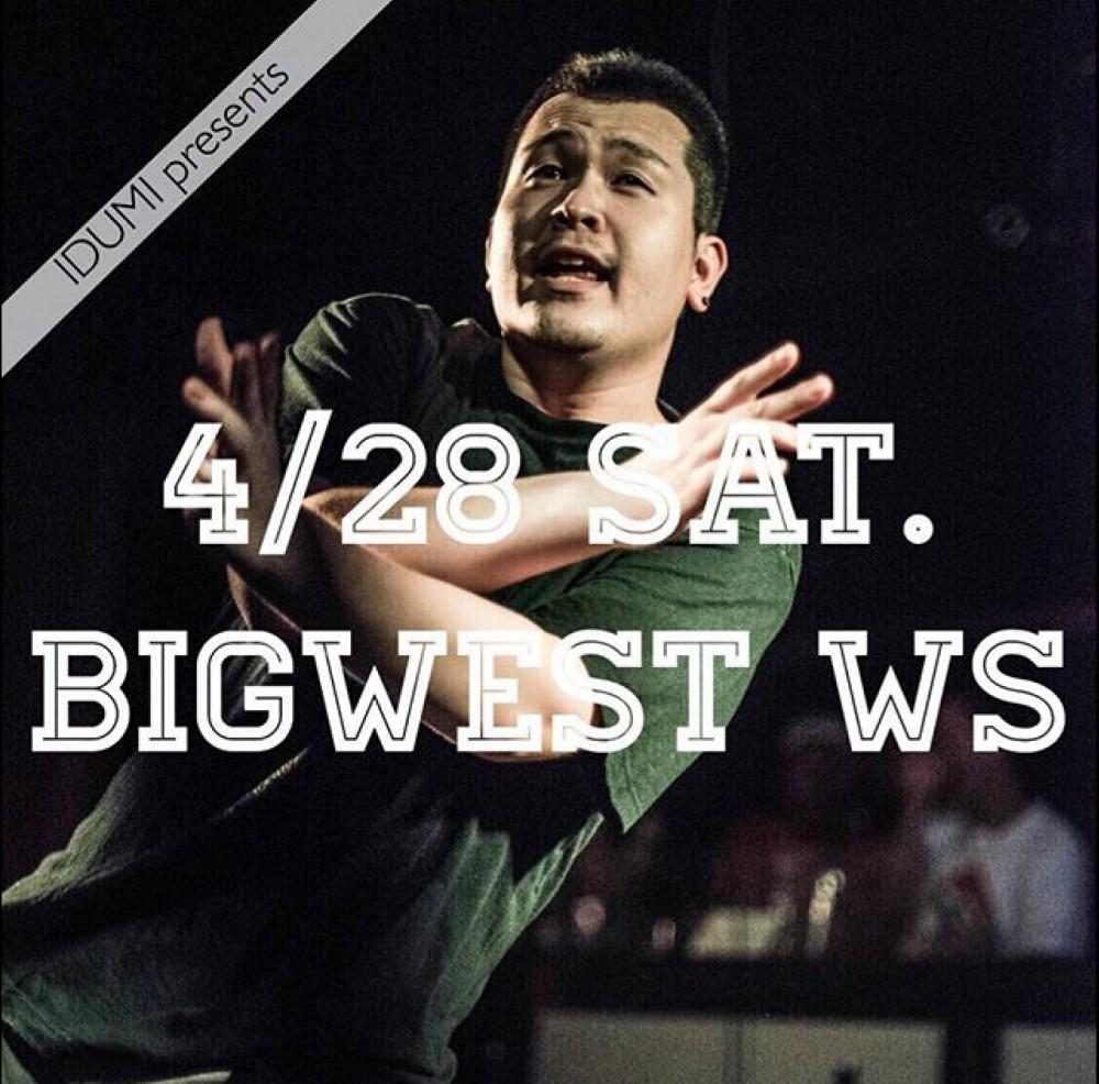 IDUMI presents  ⚡️ BIGWEST  WORK SHOPのお知らせ ⚡️