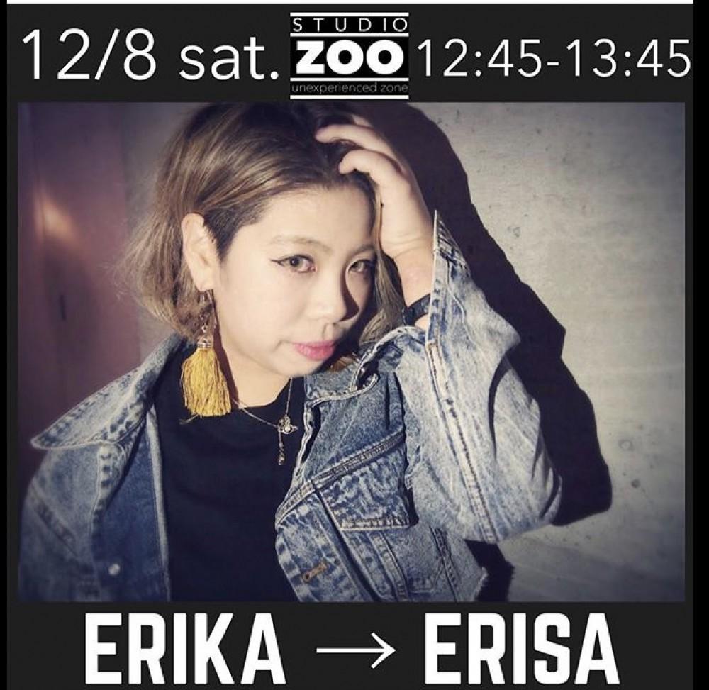 12/8(土) 12:45 ERIKA▶︎ ERISA