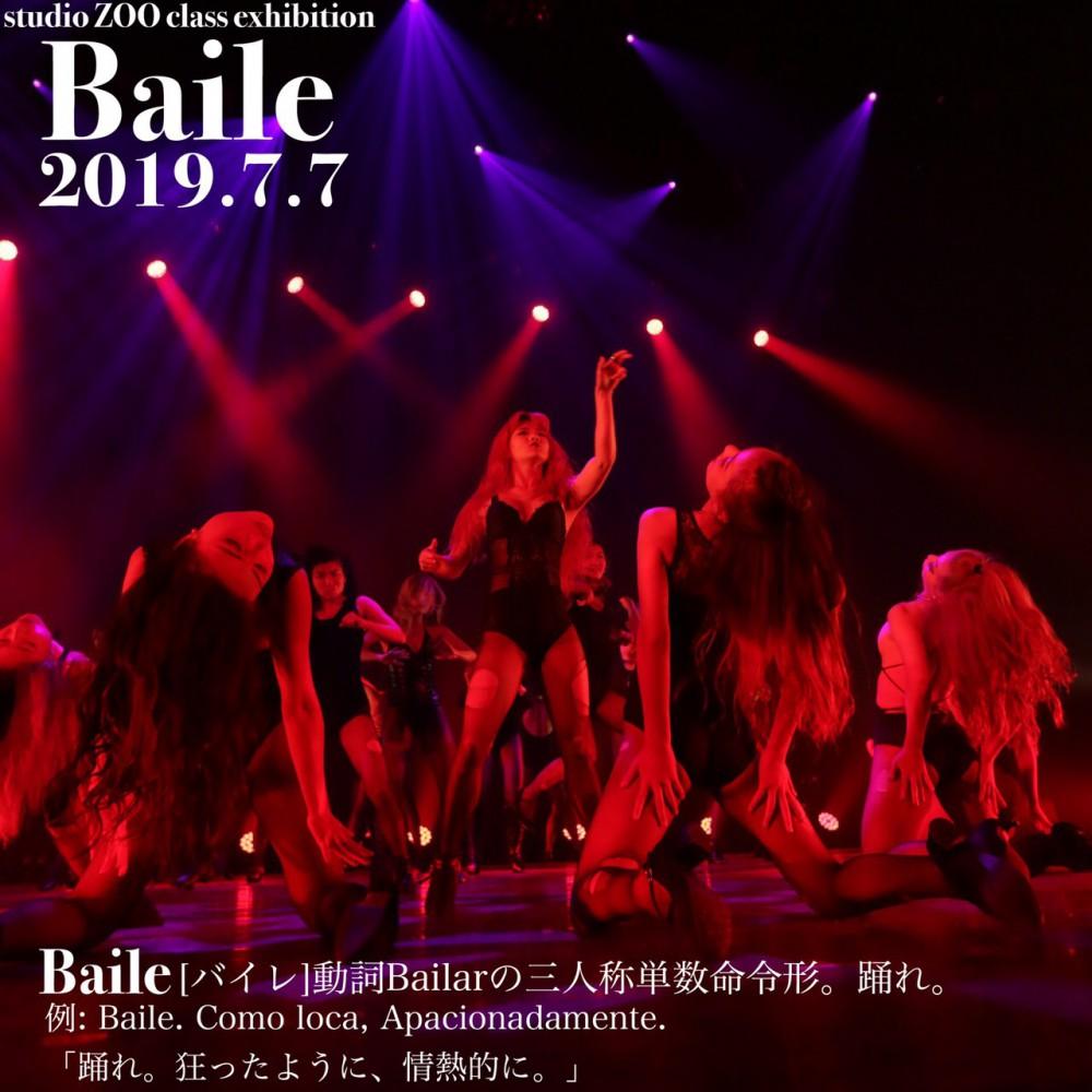 "Studio ZOO class exhibition    💥""Baile""💥"