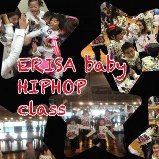 体験lesson ☆ERISA baby HIPHOP/sat